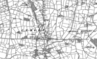 Old Map of Great Cubley, 1880 - 1899