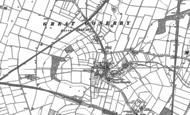 Old Map of Great Gonerby, 1886 - 1887