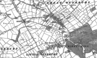 Old Map of Great Ouseburn, 1892