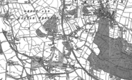 Old Map of Great Preston, 1890