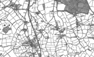 Old Map of Great Ryton, 1882
