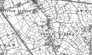 Old Map of Great Sutton, 1897