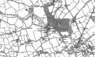 Old Map of Great Waltham, 1895