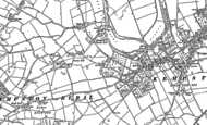 Old Map of Green End, 1882