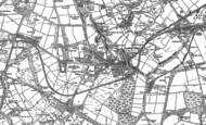 Old Map of Greencroft, 1895 - 1916