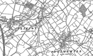 Map of Greenfield, 1881