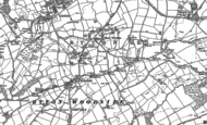Old Map of Greenside, 1914 - 1915