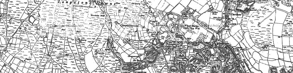 Old map of Greensplat in 1879