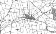 Old Map of Greetham, 1884 - 1903