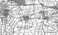 Old Map of Greinton, 1885