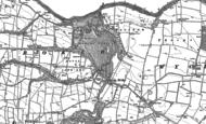 Old Map of Greta Bridge, 1912