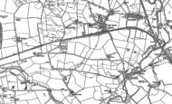 Old Map of Gretna, 1899 - 1945