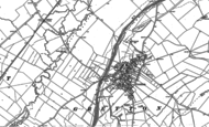 Old Map of Gretton, 1899 - 1902