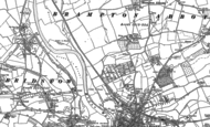 Old Map of Greytree, 1887