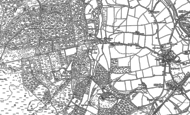 Old Map of Griggs Green, 1908 - 1909