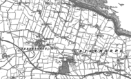 Old Map of Gristhorpe, 1889 - 1909