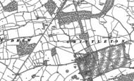 Old Map of Grittleton, 1919