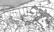 Old Map of Gronant, 1910