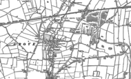 Old Map of Grove, 1876 - 1898