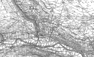 Old Map of Gunnerside, 1891 - 1892