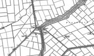 Old Map of Guthram Gowt, 1886 - 1887