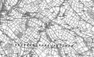 Old Map of Gwyddgrug, 1886 - 1887