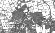 Old Map of Hackbridge, 1894 - 1911