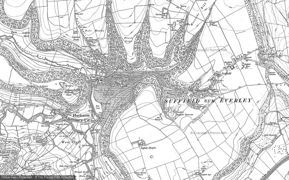 Map of Hackness, 1910