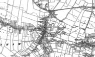 Old Map of Haddenham, 1887