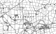 Old Map of Haddington, 1886 - 1904