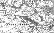 Old Map of Haddon Hall, 1878 - 1879