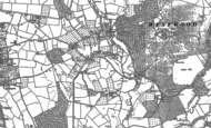 Old Map of Hadley, 1883 - 1884