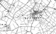 Old Map of Hadstock, 1901