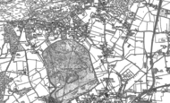 Old Map of Hale, 1913