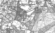 Old Map of Hale Park, 1895 - 1900