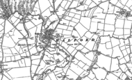 Old Map of Halford, 1885 - 1904