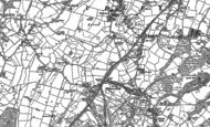 Old Map of Halmer End, 1898