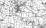 Old Map of Halse, 1887