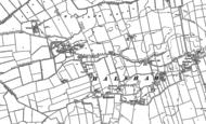 Old Map of Halsham, 1908