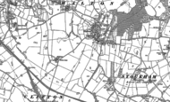Old Map of Halton, 1897 - 1908