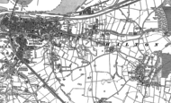 Old Map of Halton Brook, 1897 - 1908