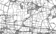 Old Map of Hambrook, 1909 - 1910