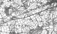 Map of Hamlet, 1888