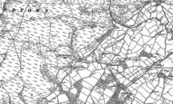 Old Map of Hamperley, 1883