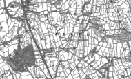 Old Map of Hampson Green, 1910
