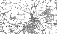 Old Map of Hampstead Norreys, 1898