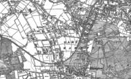 Old Map of Hampton, 1894 - 1913