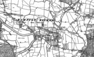 Old Map of Hampton Bishop, 1886