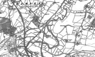 Old Map of Hamsey, 1897 - 1898