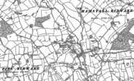 Old Map of Hamstall Ridware, 1881 - 1882